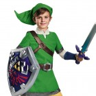 Legend of Zelda: Link the Elf Deluxe Kids Costume Featured Image - CostumePop