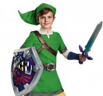 sc 1 st  Costume Pop & Legend of Zelda: Link Deluxe Kidu0027s Costume | Costume Pop