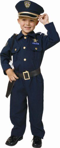 Police Officer Toddler Costume - CostumePop