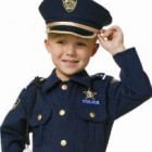 Police Officer Toddler Costume Featured Image - CostumePop