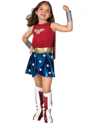 Wonder Woman Child Costume - CostumePop