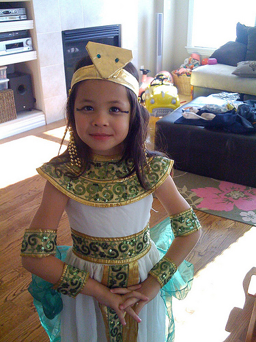 How to Make a Cleopatra Costume